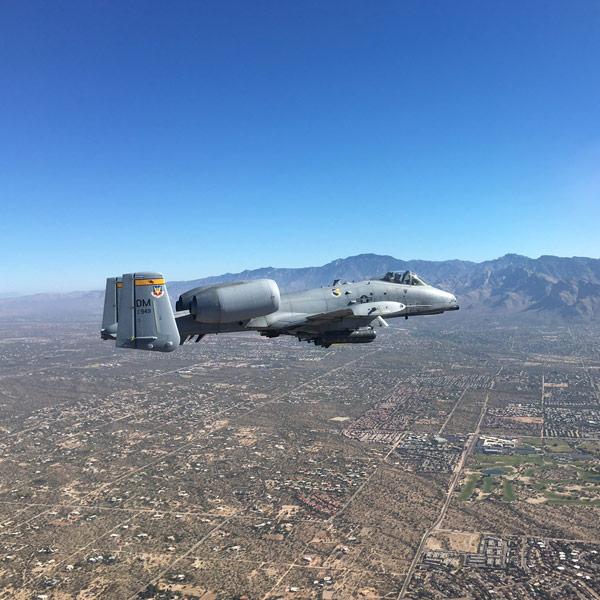 Neal Sheeran over Tucson - A-10