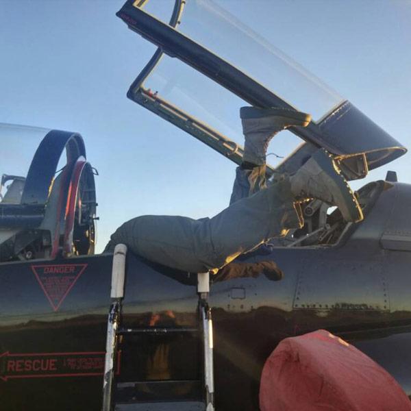 J.F. T-38A