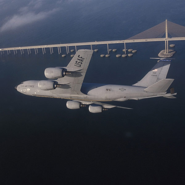 The KC-135 of an anonymous Brave