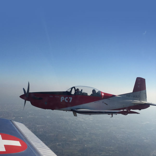 Pilatus PC-7 - Marc and Paolo